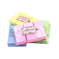 Разноцветные салфетки безворсовые (1000 шт.)