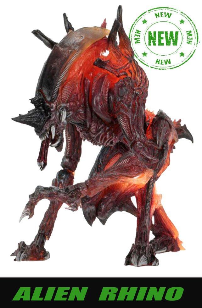 Чужой Носорог (Alien-Rhino) 2020