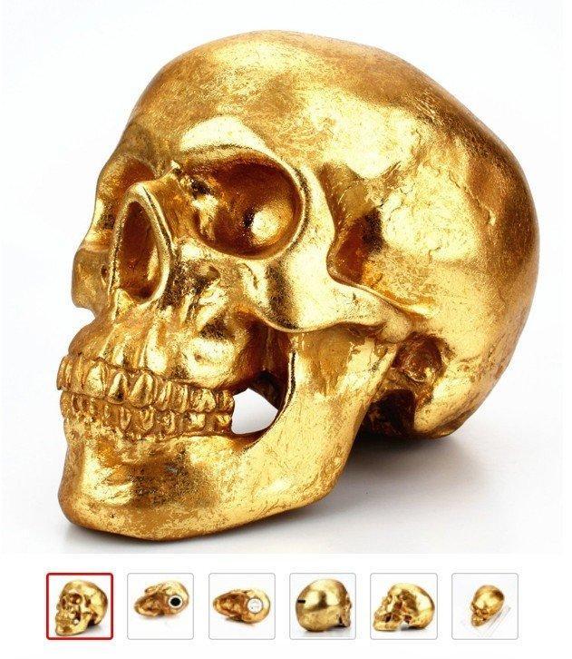 Череп Скарбничка (золото)