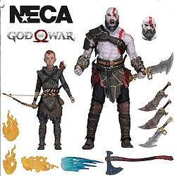 Кратос+Атрей (God of War 4)