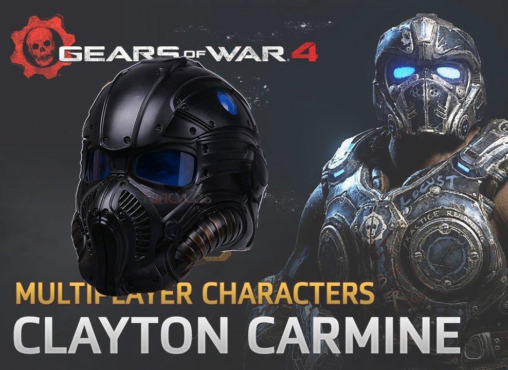 "Шолом Клейтона (Clayton Carmine ""Gears of War"")"
