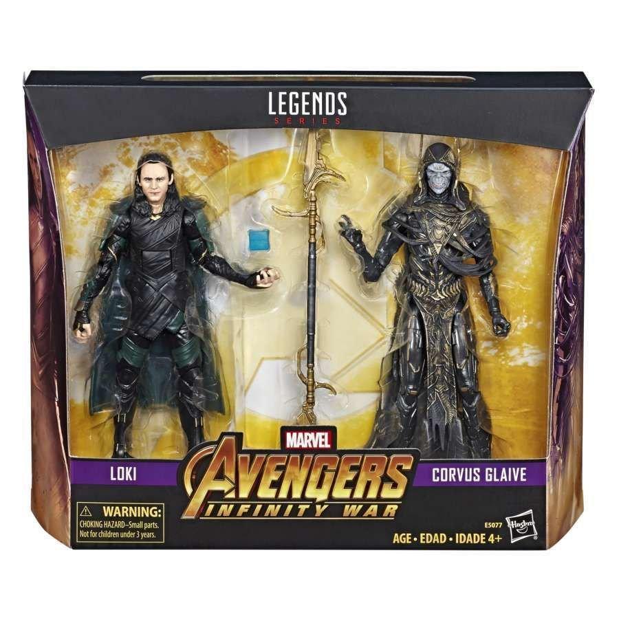 Локі+Корвус Глейв (Avengers: Infinity War)