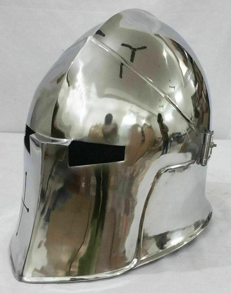 Шлем Барбют (итальянский стиль). Раритет