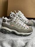 Серые новые кроссовки skechers, фото 5