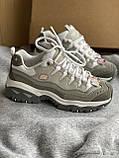 Серые новые кроссовки skechers, фото 2