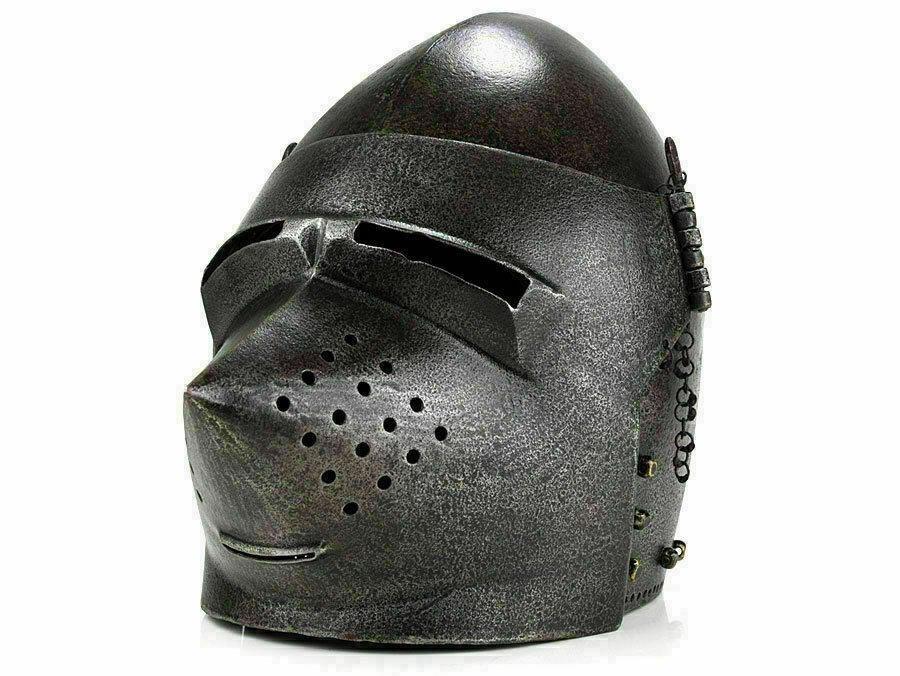 Шлем Бацинет (черный).Раритет