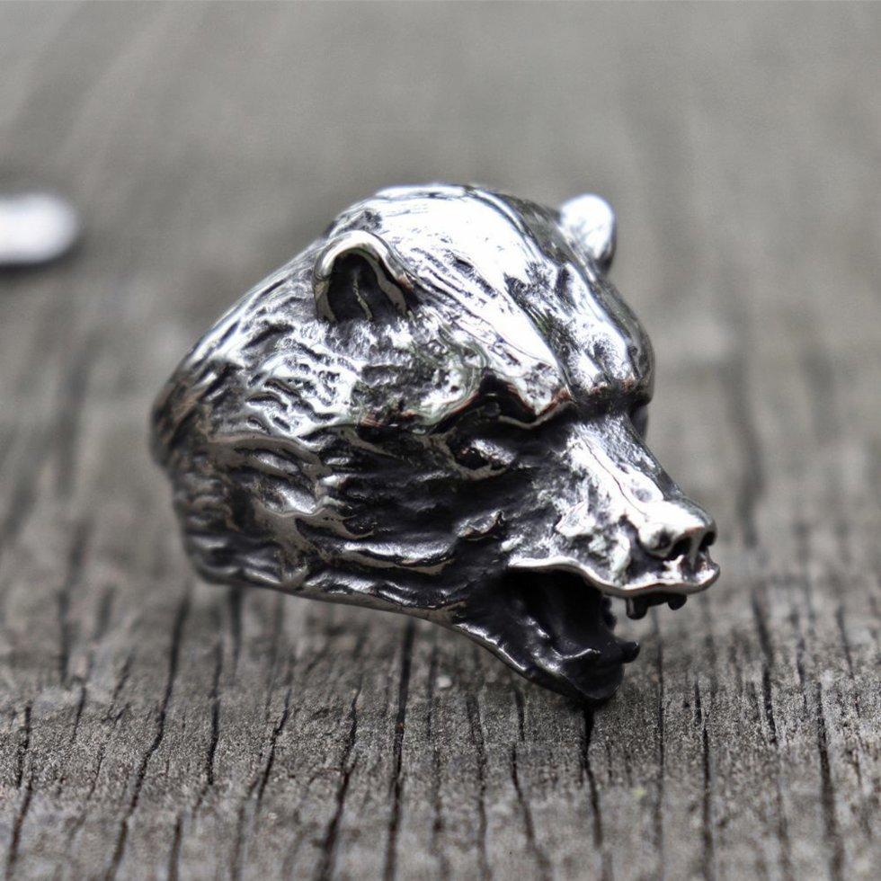 Перстень Голова Ведмедя