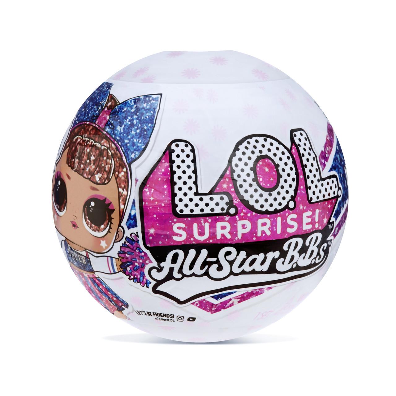 ЛОЛ кукла Спортивная команда LOL Surprise! LOL All-Star B.B.s Sports Series 2 Оригинал.