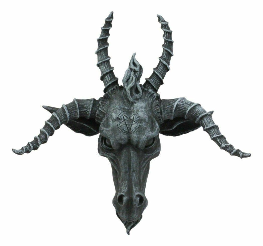 Голова Бафомета Четырехрогая (Nemesis Now) Унікальний товар!
