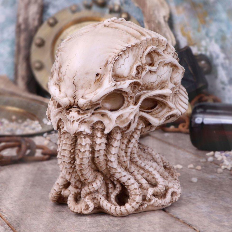Череп Ктулху Cthulhu Skull (Nemesis Now) new