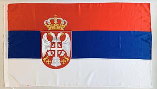 Флаг Сербии - (Печать) - (0.9м*1.5м)