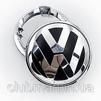 Колпаки в диски VW Volkswagen (Фольцваген) 65 мм Хром, фото 3