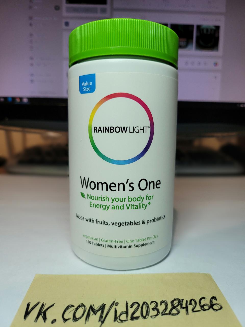 Витамины для женщин Rainbow Light Women's One Multivitamin 150 tabs
