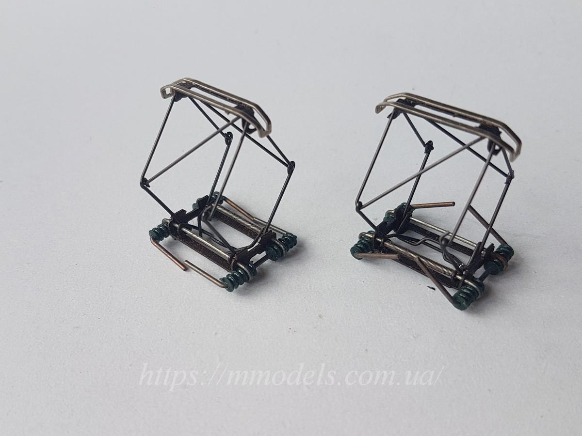 Запасные части к электровозам пантограф для электровоза 2 штуки, масштаба 1:87, H0