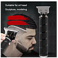 Триммер для окантовки и стрижки бороды HairTrimmer Cordless Skeleton (Black), фото 7
