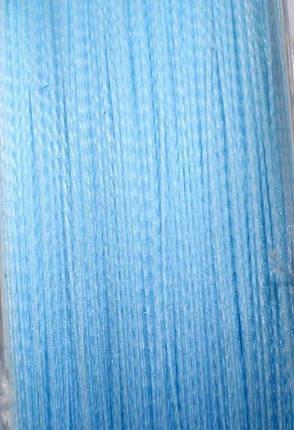 Шнур плетёный Sunline Cast Away PE 0,16мм 150м голубой, фото 2