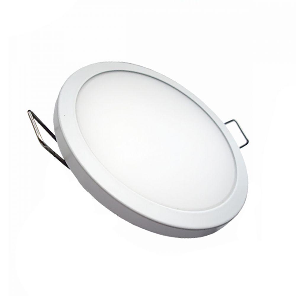 Светильник LED PANEL RIGHT HAUSEN круг SLIM 6W 4000K IP20 белый HN-234010