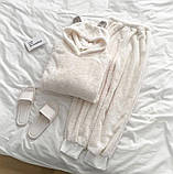 Пижама женская плюш Размеры: 42-46 48-52, фото 2