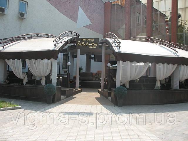 Летняя площадка для кафе и ресторана