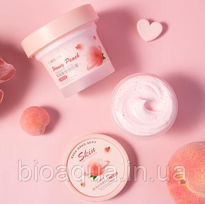 Скраб для тела Laikou Peach с экстрактом персика и азиатской центеллой 100 g