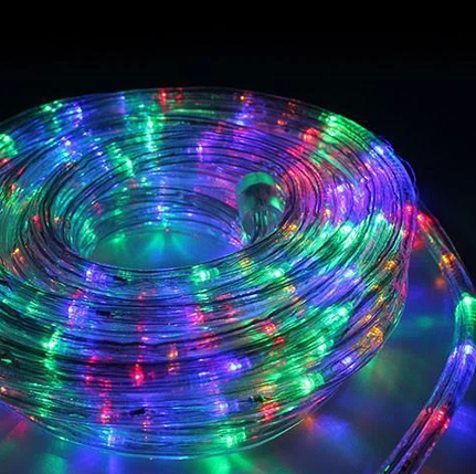 Шланг 20 метров МУЛЬТИК Xmas Rope Light, фото 2