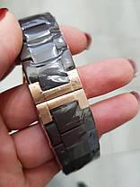 Годинники чоловічі наручні Emporio Armani AR-5905 Gold-Brown Silicone / репліка ААА класу, фото 3