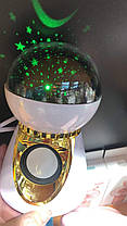Проектор звездного неба ночник шар музыкальный Диско шар RGB подсветка Диско шар Led Music BulB ночник, фото 3