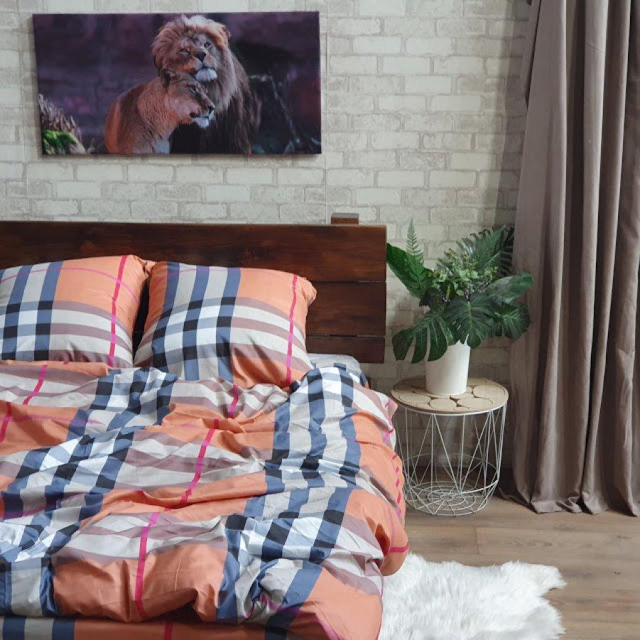 Полуторное постельное белье София 3D (микросатин) - Сплит