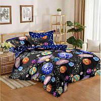 Семейное постельное белье Бязь Gold - Галактика Сомбрэро