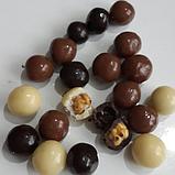Шоколадне драже горіх, кава,апельсин,родзинки , нут Bim birlesik Hazine, 230 гр., фото 7