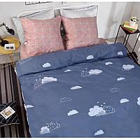 Двуспальное постельное белье Бязь Gold - Облака