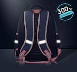 Рюкзак школьный анатомический с пеналом для девочки 1 - 2 - 3 класс, 7-8-9, детский портфель, ранец, фото 6