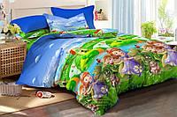 Детский комплект постельного белья, 100% хлопок, принцессы