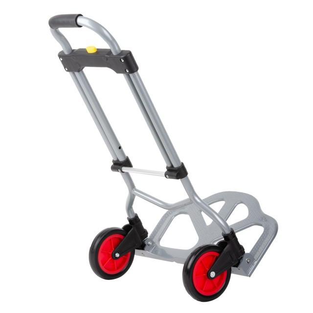 ✅ Двоколісний візок вантажна ручна складна побутова тачка (кравчучка) до 60 кг (сталева), 385*375*960,