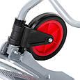 ✅ Двоколісний візок вантажна ручна складна побутова тачка (кравчучка) до 60 кг (сталева), 385*375*960,, фото 9