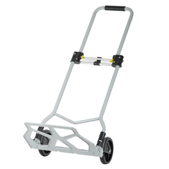 ✅ Двоколісний візок вантажна ручна складна побутова тачка (кравчучка) до 70 кг (сталева) , 425*420*980,