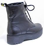 Ботинки высокие женские зимние кожаные от производителя модель НИК13, фото 4