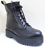 Ботинки высокие женские зимние кожаные от производителя модель НИК13, фото 2