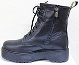 Ботинки высокие женские зимние кожаные от производителя модель НИК13, фото 3