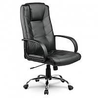 Стул Компьютерный,Офисный Кресло PORTO BLACK Eago EG-221 Черный