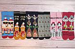 🎄 Новогодние розовые носки с далматинцами NAUGHTY 36-41 размер LEONORA, фото 3