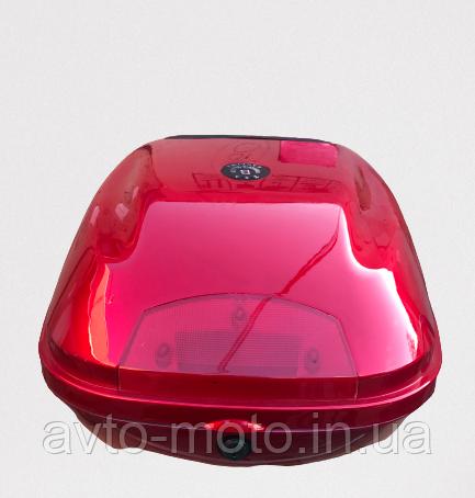 Кофр багажник красный