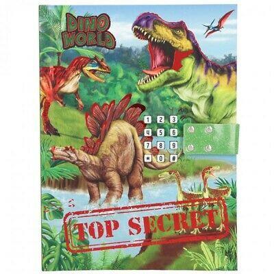 DINO WORLD дневник блокнот с паролем  Динозаври TOP Model с звуком для мальчиков от ТОП Модел Depesche 10972