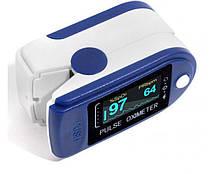 Пульсометр оксиметр pulse oximeter на палец Измеритель пульса беспроводной, фото 3
