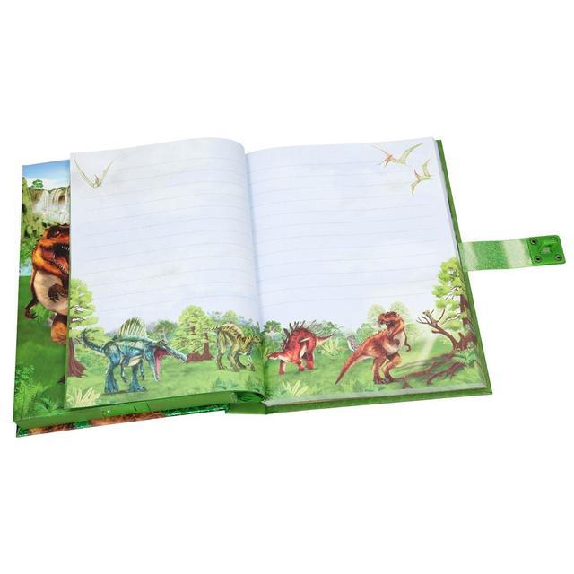 DINO WORLD дневник блокнот с паролем от TOP Model с звуком для мальчиков от ТОП Модел Depesche 10972