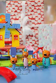 Набор героев Три кота Детская площадка HM 183