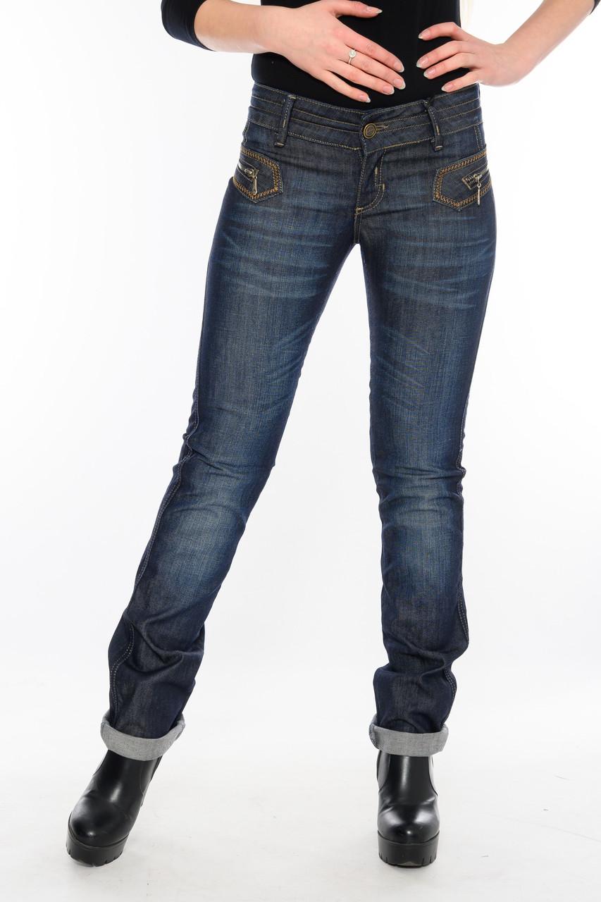 Женские джинсы OMATjeans 9519 синие