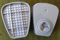 Фильтр угольный 3М 6057.   2 шт.