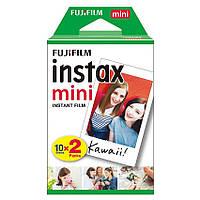 Фотобумага оригиная для камеры Fujifilm Instax Mini Color fuji film 20 sheets для 7S, 8,9, 11, 25, 50S инстакс