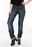 Женские джинсы OMATjeans 9519 синие, фото 3